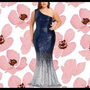 Dresses   Skirts - Stretch Sparkling Mermaid Dress b509a601a26